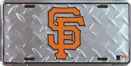 San Francisco Giants Diamond Emboss Auto Tag [M... - $7.91
