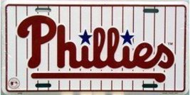 Phillies License Plate Tin Sign [Automotive] - $7.91