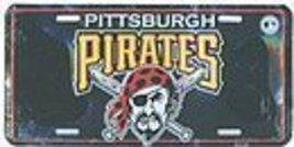 Pittsburgh Pirates License Plate [Misc.] - $7.91