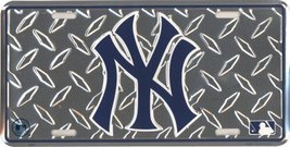 New York Yankees Diamond Metal License Plate [A... - $7.91