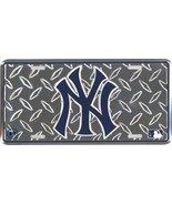 New York Yankees Diamond Metal License Plate [A... - $7.91