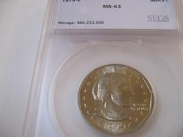 1979-P , Susan B. Anthony Dollar  , Beautiful Coin , SEGS , MS-63 - $18.00