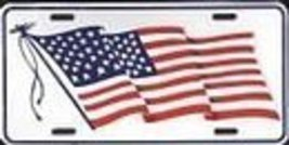 United States of America Flag License Plate - $6.92