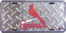 St Louis Cardinals Diamond Emboss Auto Tag [Misc.] - $8.90