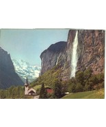 Germany, Lauterbrunnen mit Staubbach, Grosshorn, unused Postcard  - $4.99