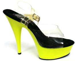 Lime Platform Sandal - $49.00