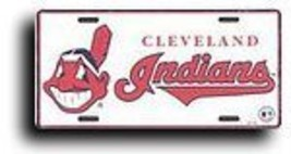 MLB License Plate - Cleveland Indians [Misc.] - $7.91