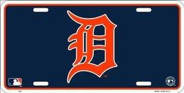 Detroit Tigers MLB Embossed Metal Novelty Licen... - $7.91