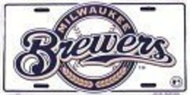 Milwaukee Brewers License Plate [Misc.] - $7.91