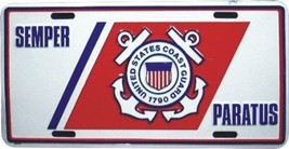 US Coast Guard License Plate - $7.91