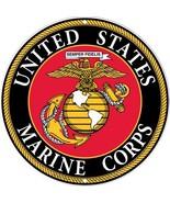 USMC Military Logo Aluminum Sign - Marines Serv... - $12.86