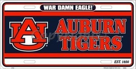 University of Auburn Tigers War Eagle Collegiat... - $6.92