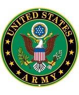 Army Military Logo Aluminum Metal Sign - US Ser... - $12.86