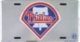 Philadelphia Phillies MLB Chrome License Plate ... - $8.90