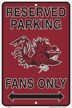 South Carolina Gamecocks Fans Parking Only Meta... - $8.90