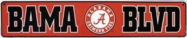Alabama, BAMA BLVD, Street Sign (Crimson Tide) - $12.86