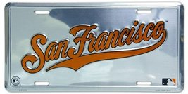 San Francisco Giants Super Stock metal auto tag... - $8.90