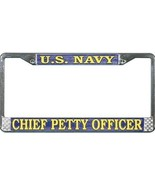 U.S. Navy Chief Petty Officer License Plate Fra... - $13.85