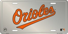 Baltimore Orioles MLB Embossed Aluminum Chrome ... - $8.90