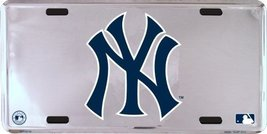 LP-1278 New York NY Yankees MLB Chrome License ... - $8.90