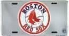 Boston Red Sox MLB Chrome License Plate [Automo... - $4.93