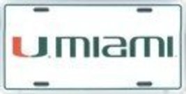 University of Miami License Plate (New Logo) - $7.91