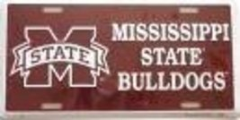 Mississippi State Bulldogs License Plate [Misc.] - $7.91