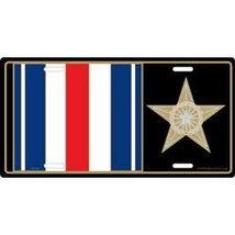 Silver Star Medal License Plate - $9.89