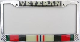 Enduring Freedom Veteran License Plate Frame (C... - $15.83