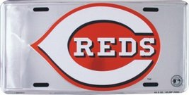 Cincinnati Reds Super Stock metal auto tag mirr... - $8.90