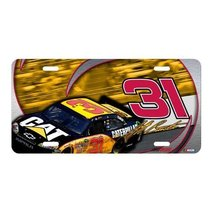 NASCAR Jeff Burton Tire Tread Metal License Pla... - $5.93
