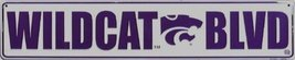 Kansas ST. WILDCAT BLVD Street Sign - $12.86
