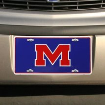 Ole Miss M NCAA Tin License Plate [Kitchen] - $6.92