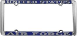 U.S. Air Force Thin Rim License Plate Frame (Ch... - $13.85