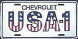 Chevrolet USA-1 License Plate - $7.91