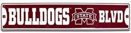 Mississippi St. Bulldogs Blvd Street Sign (M) - $12.86