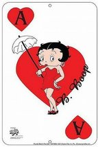 Betty Boop Tin Sign Ace Of Hearts [Kitchen] - $7.91