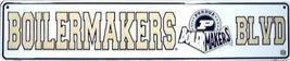 Purdue Boilermakers Blvd Street Sign - $12.86