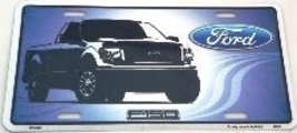 Ford F-150 Truck License Plate Auto tag - $7.91