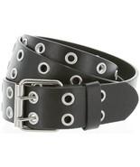 Solid Rich Fashion Color Double Grommet Genuine Leather Casual Jean Belt 35mm... - $112,54 MXN