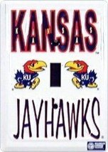 Kansas Jayhawks Metal Light Switch Cover [Misc.] - $4.94