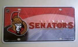 Ottawa Senators Metal License Plate Tag NHL Hockey - $4.94