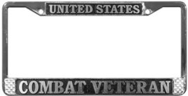 United States Combat Veteran License Plate Fram... - $13.85