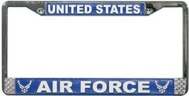 US Air Force License Plate Frame (Chrome Metal) - $13.85