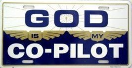 God Is My Co Pilot License Plate [Automotive] - $6.92