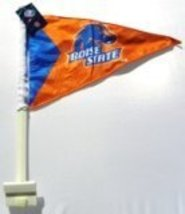Boise St Broncos Car Flag (Orange Pennant) - $9.89