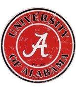 University of Alabama (retro) Collegiate Emboss... - $10.88