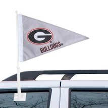 NCAA Georgia Bulldogs Pennant Car Flag - Gray [... - $9.89