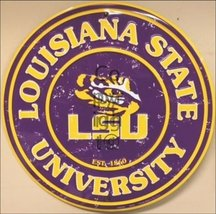 Louisiana State University Collegiate Embossed ... - $10.88