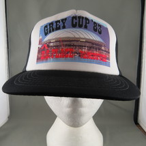 CFL Trucker Hat (VTG) - Grey Cup 1983 Official Trucker Hat - Adult Snapback - $49.00